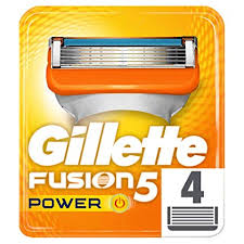 <b>Gillette</b> Fusion5 Power <b>Razor</b> Blades for Men with 5 Anti-Friction ...