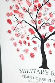 Like Mom And Apple Pie DIY How To Do A Fingerprint Tree GuestbookFingerprint Baby Shower Tree