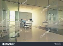 Modern Hospital Interior Design Interior Modern Hospital Room Bed Medical Stock Photo Edit