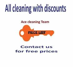 Domestic Cleaning Price List Any Day Or Immediate Professional End Of Tenancy Deep
