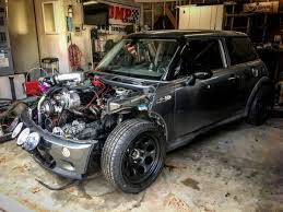 For Sale: 2004 Mini Cooper S with a Turbo Chevy V8 – Engine Swap Depot