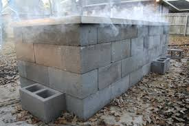 Texas Bbq Pit Design Anatomy Of A Cinder Block Pit Texas Barbecue