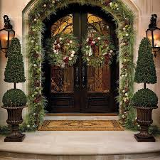 Shop our selection of superior outdoor Christmas decor and greenery from  Frontgate. Find the perfect outdoor Christmas trees and wreaths for your  holiday ...