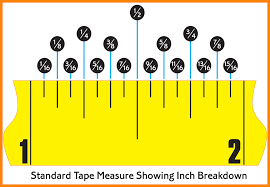 8+ tape measure with fractions   liquor samples