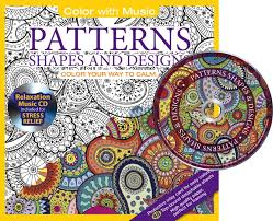 Amazon Com Patterns Shapes Designs Adult Coloring Book With