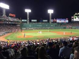 Fenway Park Section Grandstand 17 Row 1 Seat 24