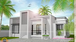978 sq ft flat roof single floor home kerala home design for low cost houses in