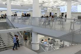 Norman foster office Lord The Film Follows The Design And Construction Of The New York Headquarters Of Digital Agency Rga in Collaboration With Architects Foster Partners Who Dezeen Workplace Gary Hustwit