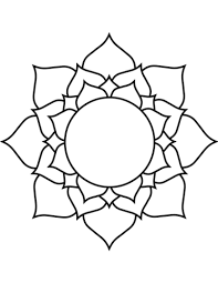 Lotus Kleurplaat Gratis Kleurplaten Printen