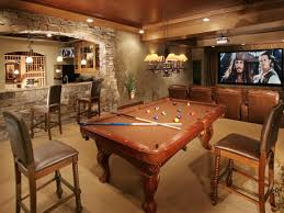 Finished Basements Add Space And Home Value HGTV - Unfinished basement man cave ideas