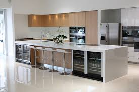 Modern Kitchen Tile Flooring Nuance Modern Kitchen Tile Flooring Applied On The Cream Floor