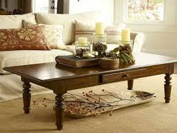 captivating how to decorate living room table and center decoration