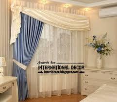 unique orange curtain designs for bedroom windows