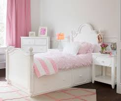 Craft SYDNEY Panel Bed with Drawers Twin Size White