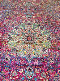 colorful rugs. Pink Antique Persian Kerman Rug Colorful Rugs