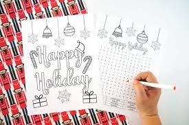 • share, forward, sell or distribute this file • remove copyright information please do Free Printable Happy Holiday Coloring Pages Made With Happy
