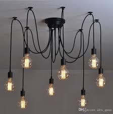 retro pendant lighting fixtures. vintage pendant lamps rh loft retro edison bulbs hanging lights creative spider lighting fixture 110v240v lamp fixtures t