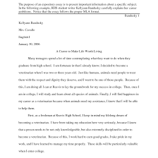 exposition essay example on drug discipline in schools inside of   example of an explanatory essay template what is expository at