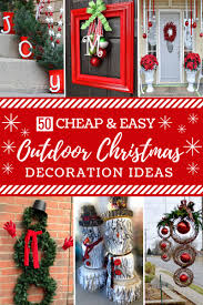 50 Cheap Easy Diy Outdoor Christmas Decorations Prudent Penny Diy Outdoor Holiday Decorating Ideas