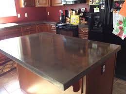 Stained Concrete Kitchen Floor Polished Concrete Countertops Decorative Concrete Of Virginia Va