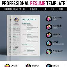 Online Resume Website Impressive CV Template Graphics Designs Templates From GraphicRiver