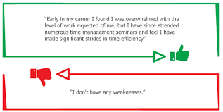what is your weakness interview question the right and wrong way to answer difficult interview questions