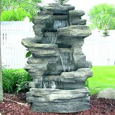 front yard water feature furniture wall water fountain pertaining to large outdoor water fountains ideas from