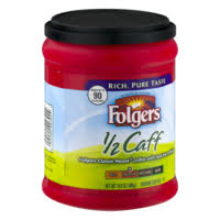 Folgers Coffee Chart Folgers Coffee Half Caff Classic Roast Medium 10 8oz Can Or
