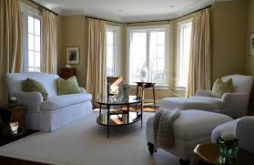 bay window furniture living. curtain rod for bay window living room transitional with furniture a