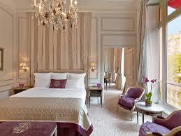 Parisian Bedroom Hatel Plaza Athacnace Paris France Hotel Review Photos