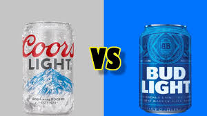 Coors Light Bud Light Coors Light Vs Bud Light Head To Head Youtube