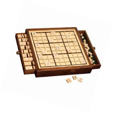 Wooden Sudoku Game Board Deluxe Wooden Sudoku Game BoardComes Puzzle Difficulties 37