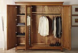 wood wardrobe closet ideas