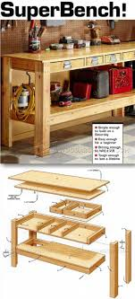Garage Workbench Plans And Patterns Delectable Simple Workbench Plans Workshop Solutions Projects Tips And