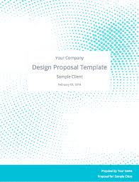 Graphic Design Proposal Example The Perfect Graphic Design Proposal Template And Bonus Bundle 24