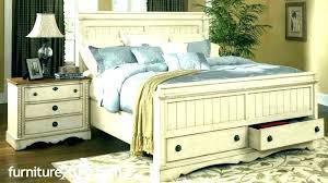 Distressed Wood Bedroom Set White Washed Rustic Bedroom Set ...