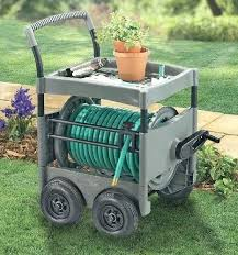 garden hose reel cart. Garden Treasures Steel 200 Ft Cart Hose Reel Cheap Find . N