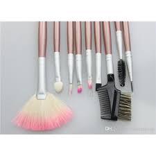 pretty brush sets. pretty womens makeup brush kits wood handle set goat hair stippling brushes bs22x001 sets p