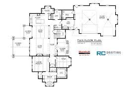 dream house plans. MAIN FLOOR PLAN 2470 Sq. Ft Dream House Plans