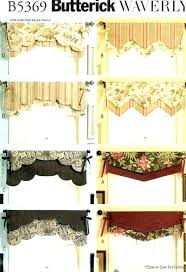Kitchen Curtain Patterns Awesome Valance Curtain Patterns Window Treatments Valances Kitchen Curtains