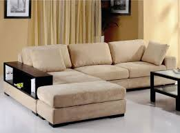 fabric sectional sofas. Modern Fabric Sectional Sofa Bed With Book Case Sahari Coduroy Beige Corduroy Sofas C