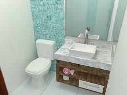 faixa de parede para quarto de beb. 40 Banheiros Decorados Com Pastilhas