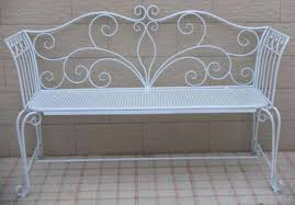 white iron garden furniture. exellent garden wrought iron chairs floral decration white painted garden  furnitures metal bench throughout white iron garden furniture