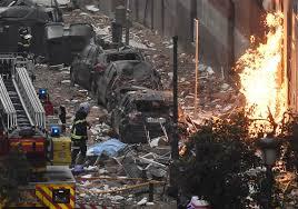 Gas explosion rips through Madrid ...
