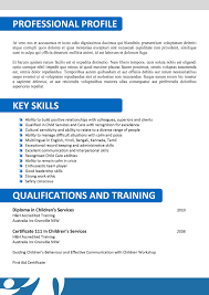 Sample Resume For Disability Support Worker New Sample Resume For