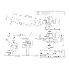 jelco sa 750d tonearm ortofon cartridge wiring at Tonearm Wiring Diagram