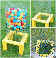 homemade outdoor games for kids. DIY Outdoor Ker-Plunk Game-20 Summer Games For Kids Adults Homemade S