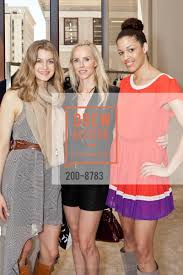 Hilary Shaw with Vanessa Getty and Andrea McBride