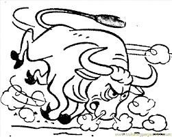 Small Picture Bull Coloring Book Coloring Coloring Pages
