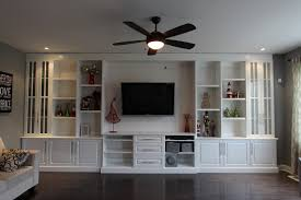 image of wonderful built in wall units